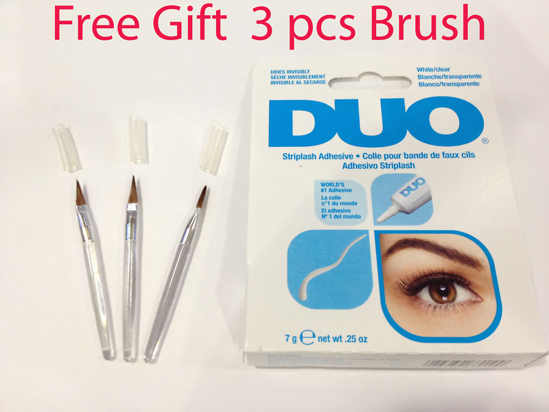 Eyelash Glue Professional DUO CLEAR Made in USA