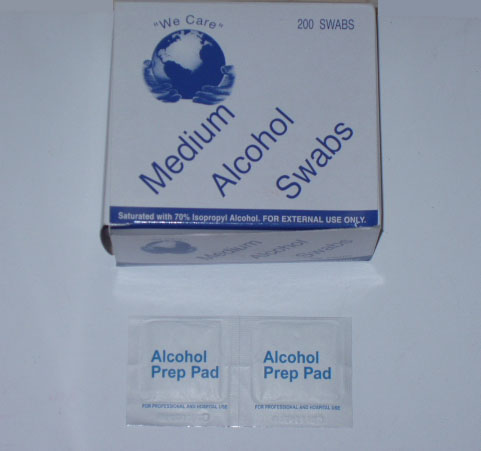 Medium Alcohol Swabs