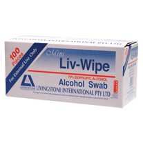 Livingstone Liv-Wipe Alcohol Swab