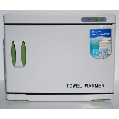 HOT TOWEL CABINET WARMER UV LIGHT SANITISING AUTOMATIC