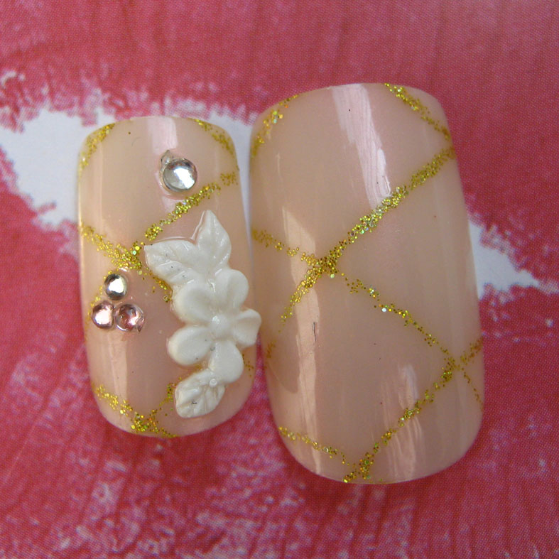 3D Acrylic Nails Tips (001)